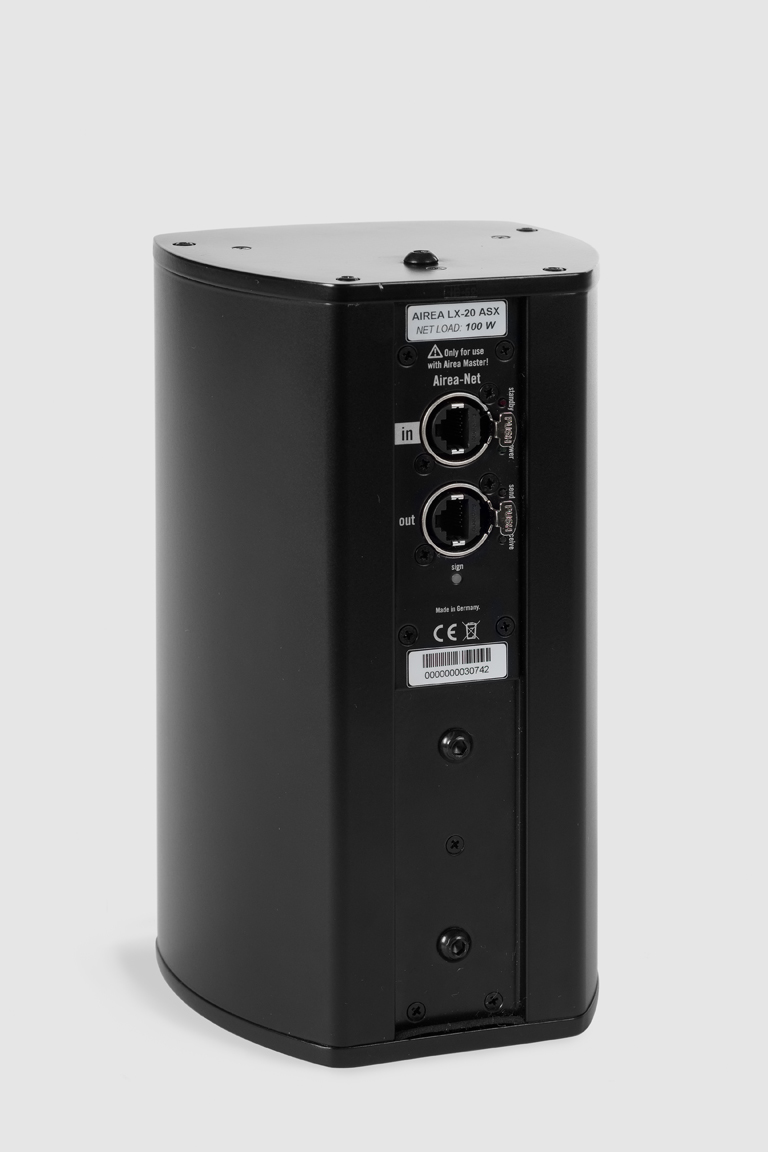 Fohhn, LX-20 ASX, Ultra-compact, active 2-way loudspeaker with DSP, 2x 4 / 0.75, 100 W, black